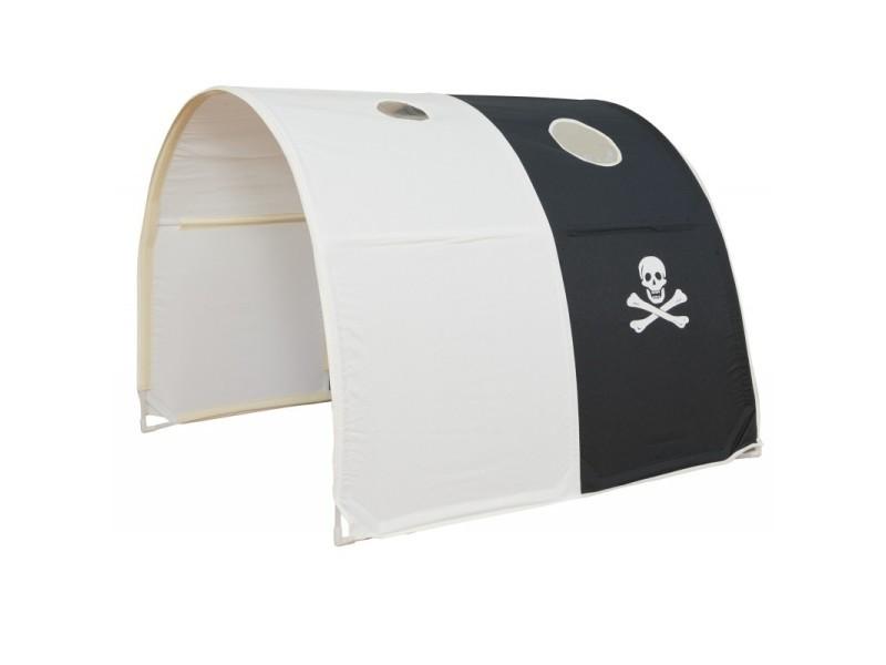 tunnel pour lit enfant superpose tente accessoires pirate 90x70x100cm ape06043
