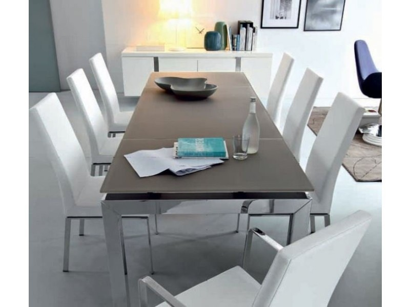table repas extensible airport 130x90