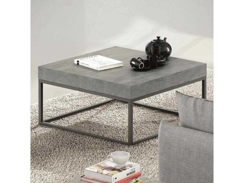 table basse design metal