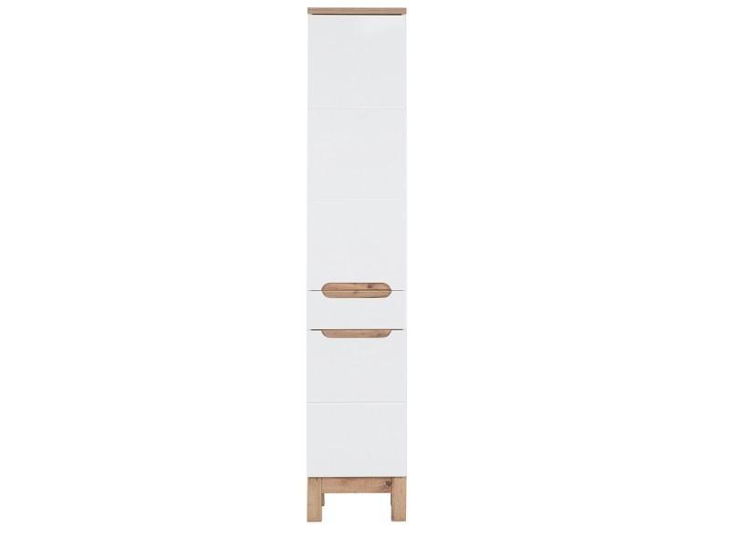 colonne salle de bain jakarta 187 cm blanc