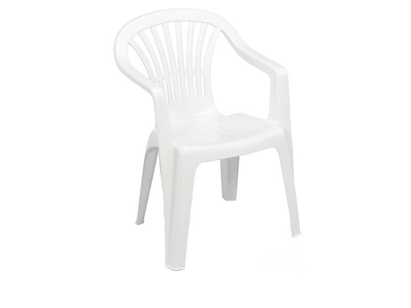 chaise de jardin altea blanche