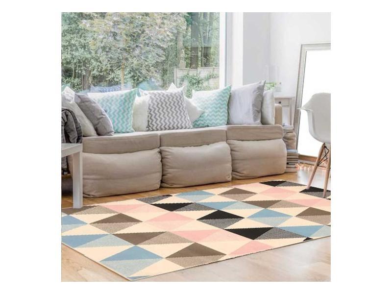 tapis salon scandinave conforama