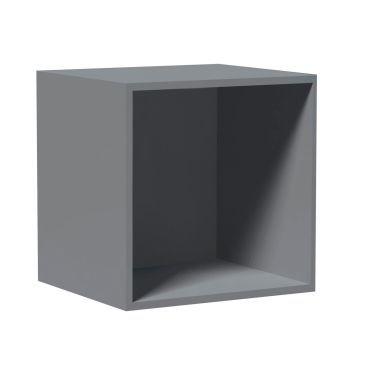 Cube De Rangement Empilable 35 5 X 35 5 Cm Gris Vente De Urban Living Conforama