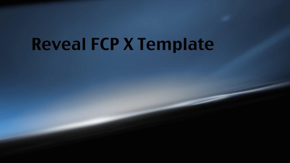 Final Cut X Templates  final cut x templates free apple