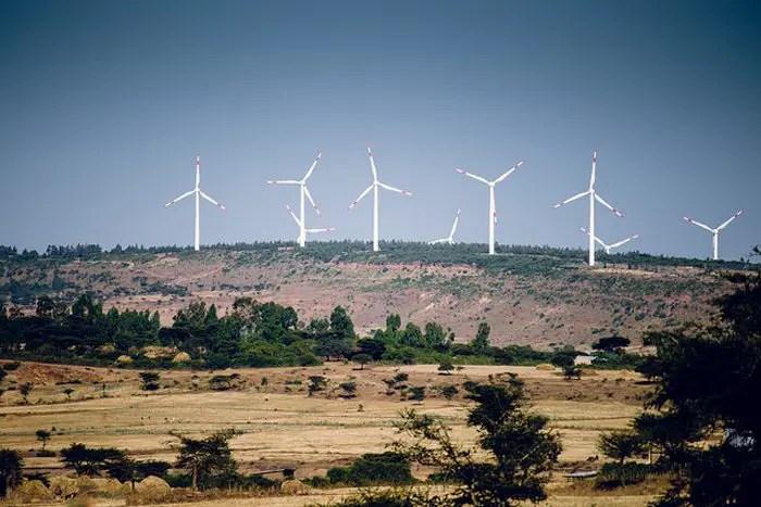 Adama wind farm Ethiopia