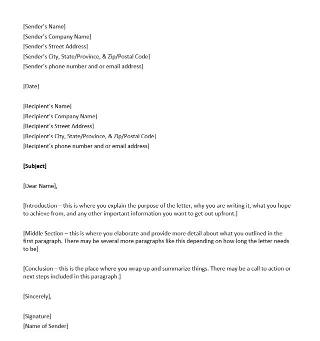 How to Address a Letter - Overview and Things to Include