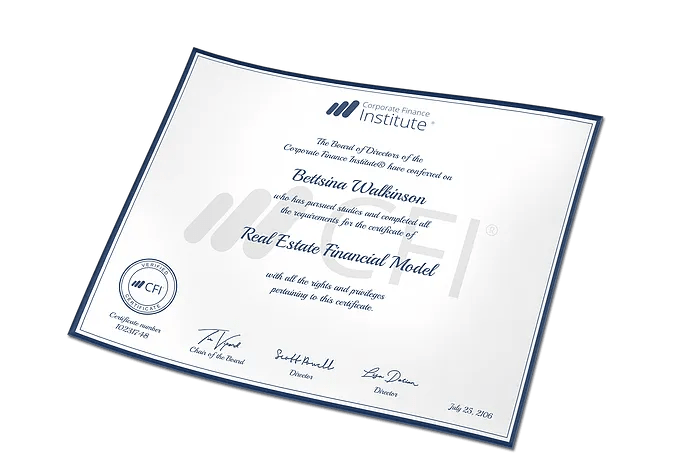 Certificates   Financial Modeling and Financial Analyst Certification finance certification