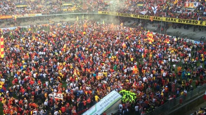 Serie B 2016-17: la festa del Benevento | numerosette.eu