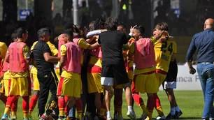 Benevento-Frosinone 2-1: ci pensa Ceravolo al 93'