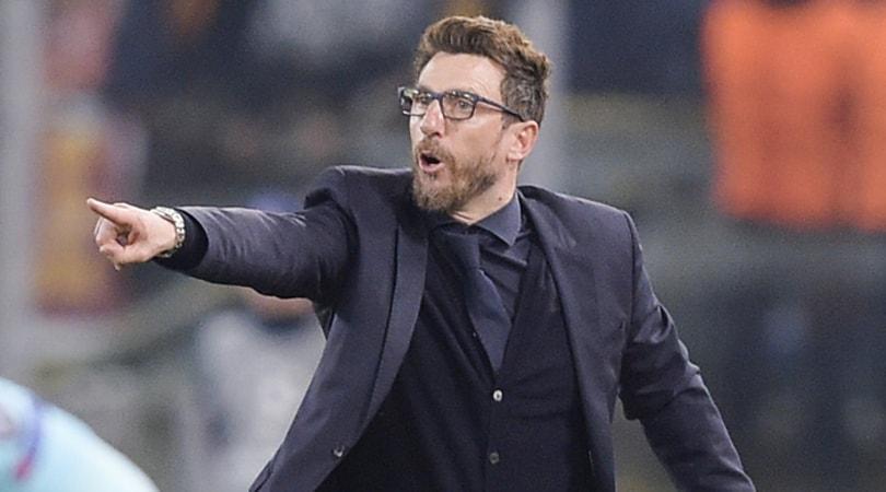 Roma, Di Francesco: «Ora voglio la finale di Kiev»