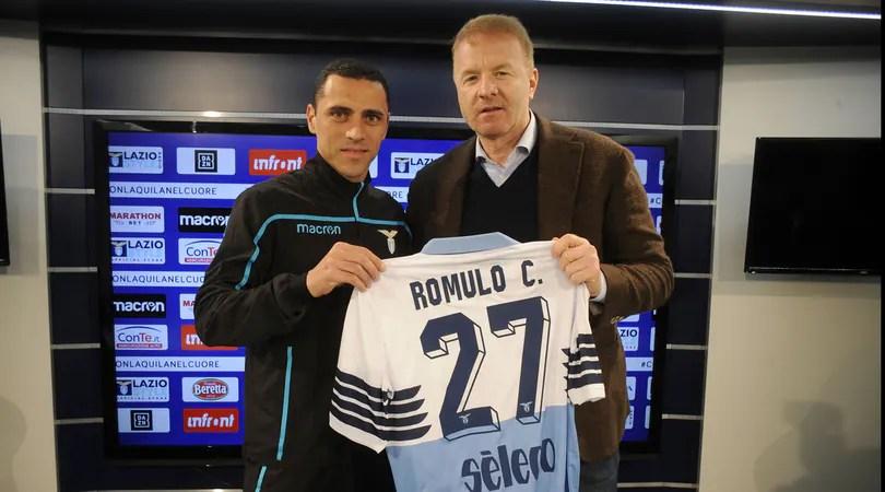 Lazio, Romulo si presenta: «Mi sento a casa, voglio vincere il derby»