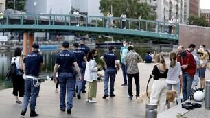 Coronavirus, nightlife in Milan: the police check