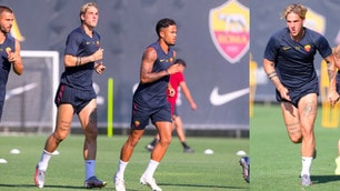 Rome, Zaniolo paws: training with the first team