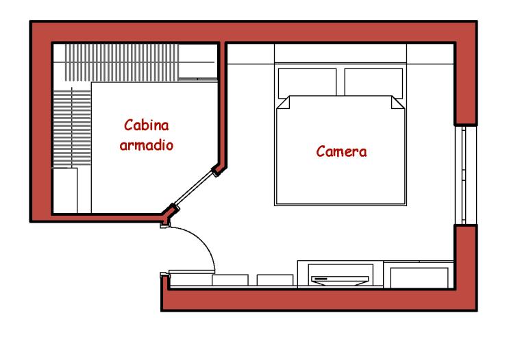 Stanza Cabina Armadio 2021