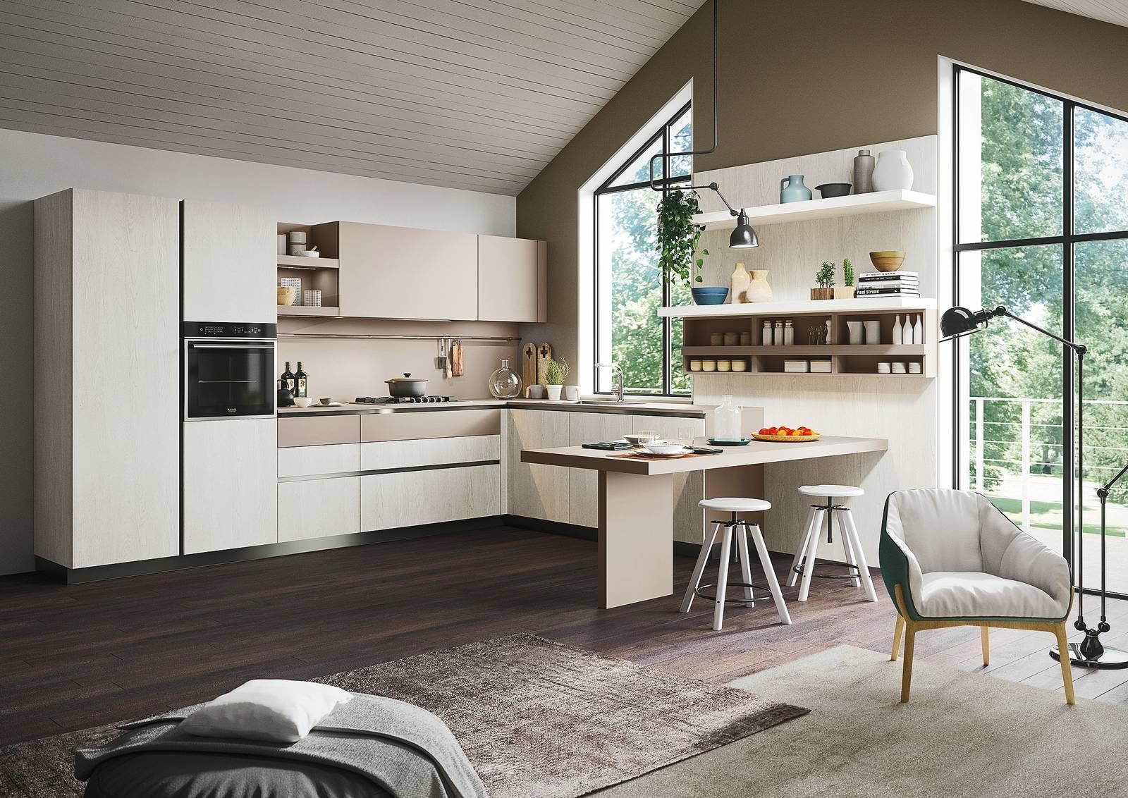 Progetti 3 Modi Di Vivere La Cucina Open Space