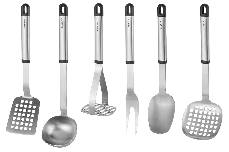 set de 6 ustensiles de cuisine berghoff essentials 2 supports