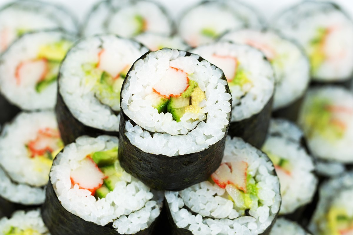 California Roll Sushi Recipe