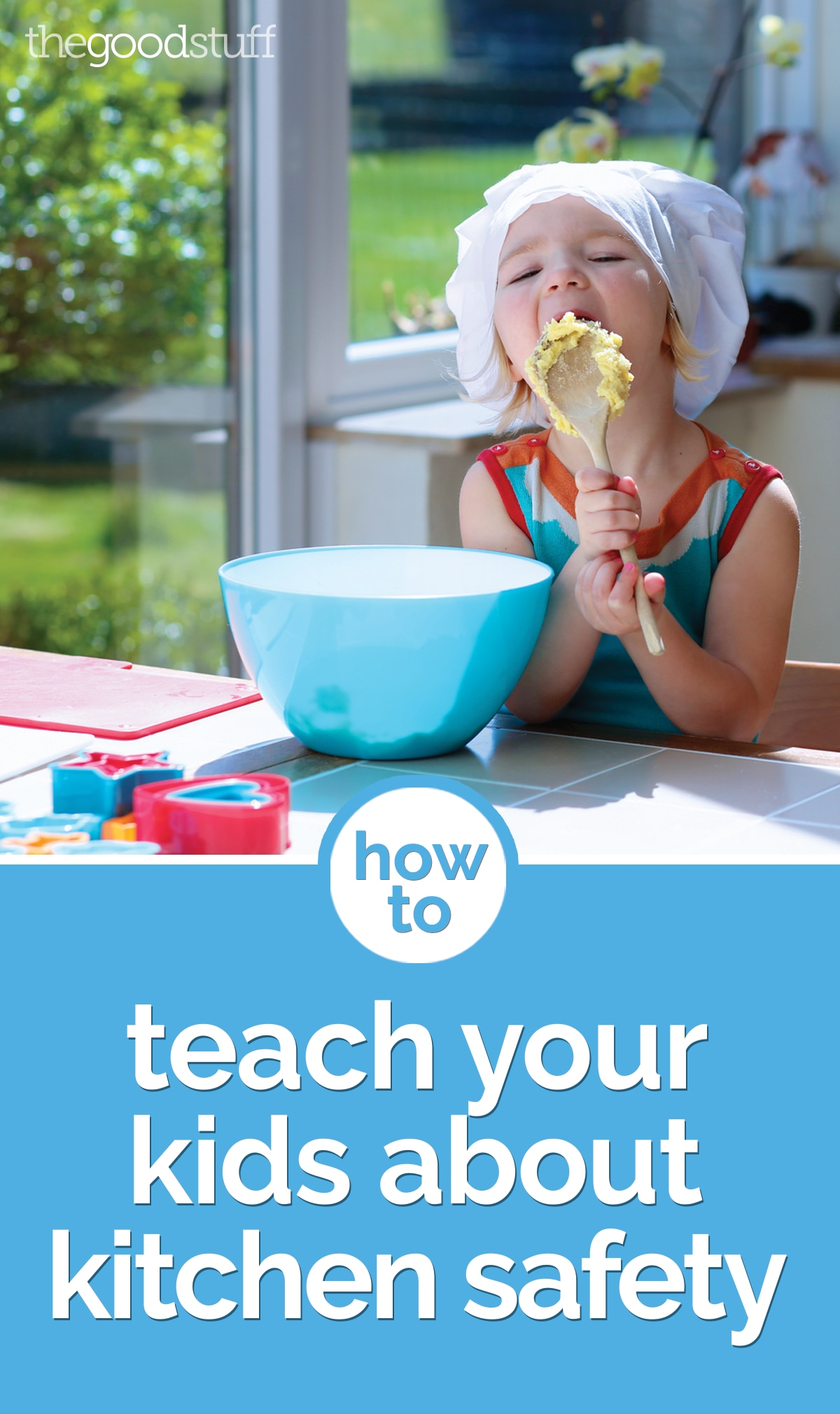 How To Teach Your Kids About Kitchen Safety