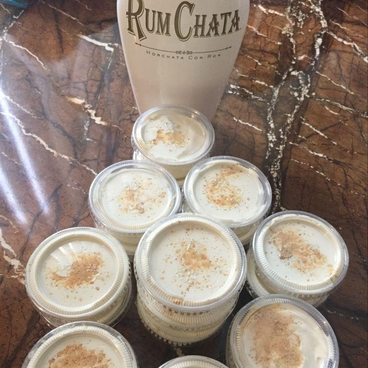 Rumchata Cheesecake Pudding Shots Crafty Morning