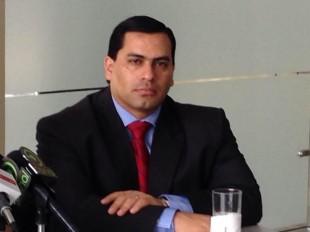 El viceministro, José Francisco Pacheco.  CRH.