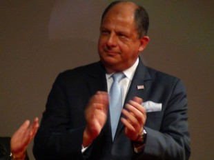 Luis Guillermo Solís, presidente de la República.  CRH.