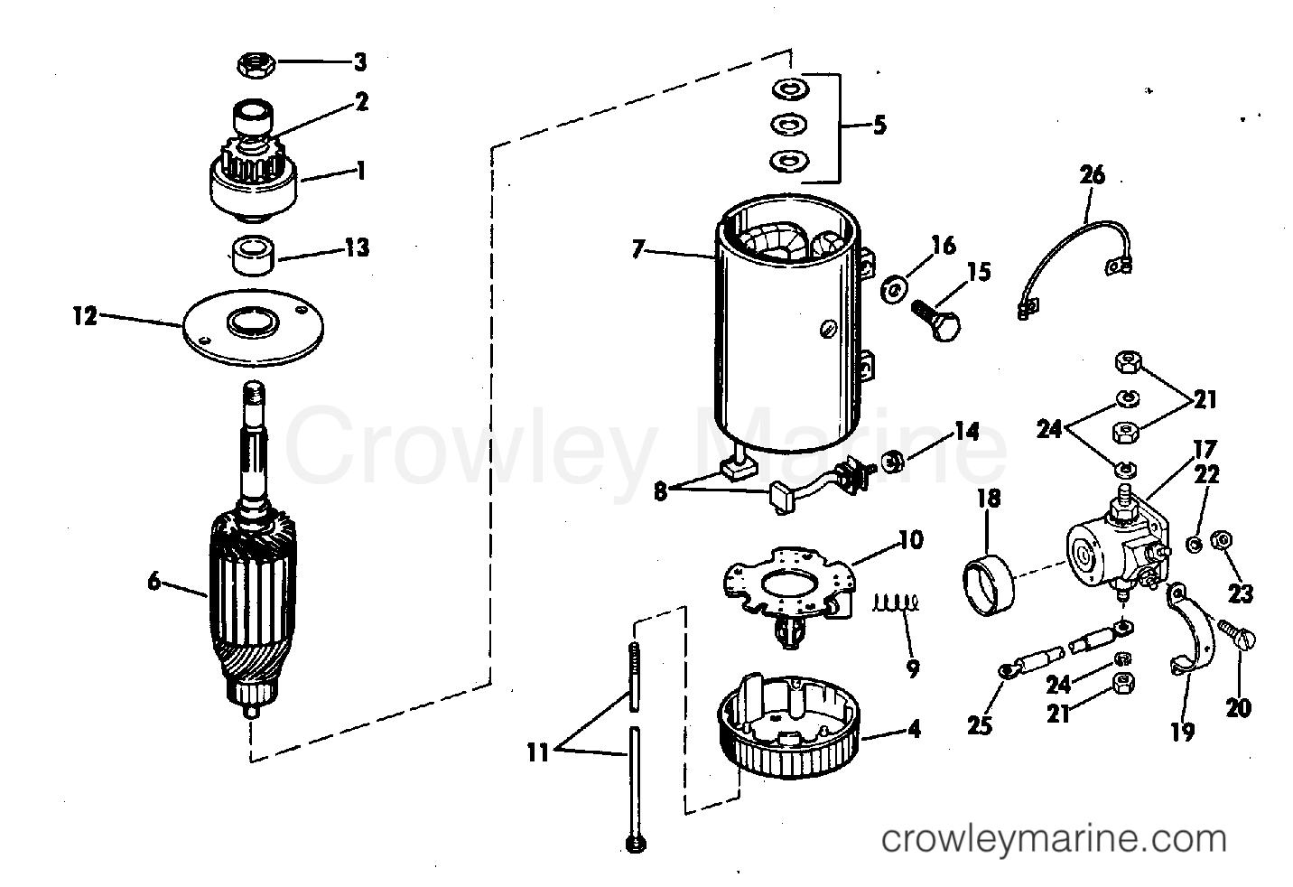 Electric Starter Amp Solenoid Prestolite Models Mgd