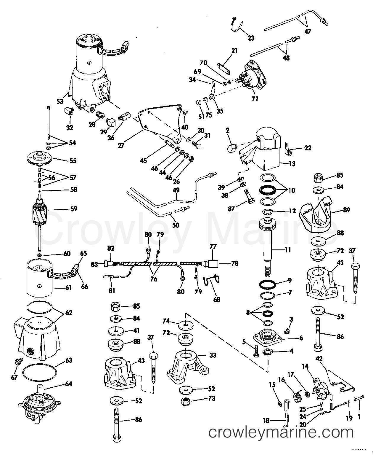 Engine Mount Group