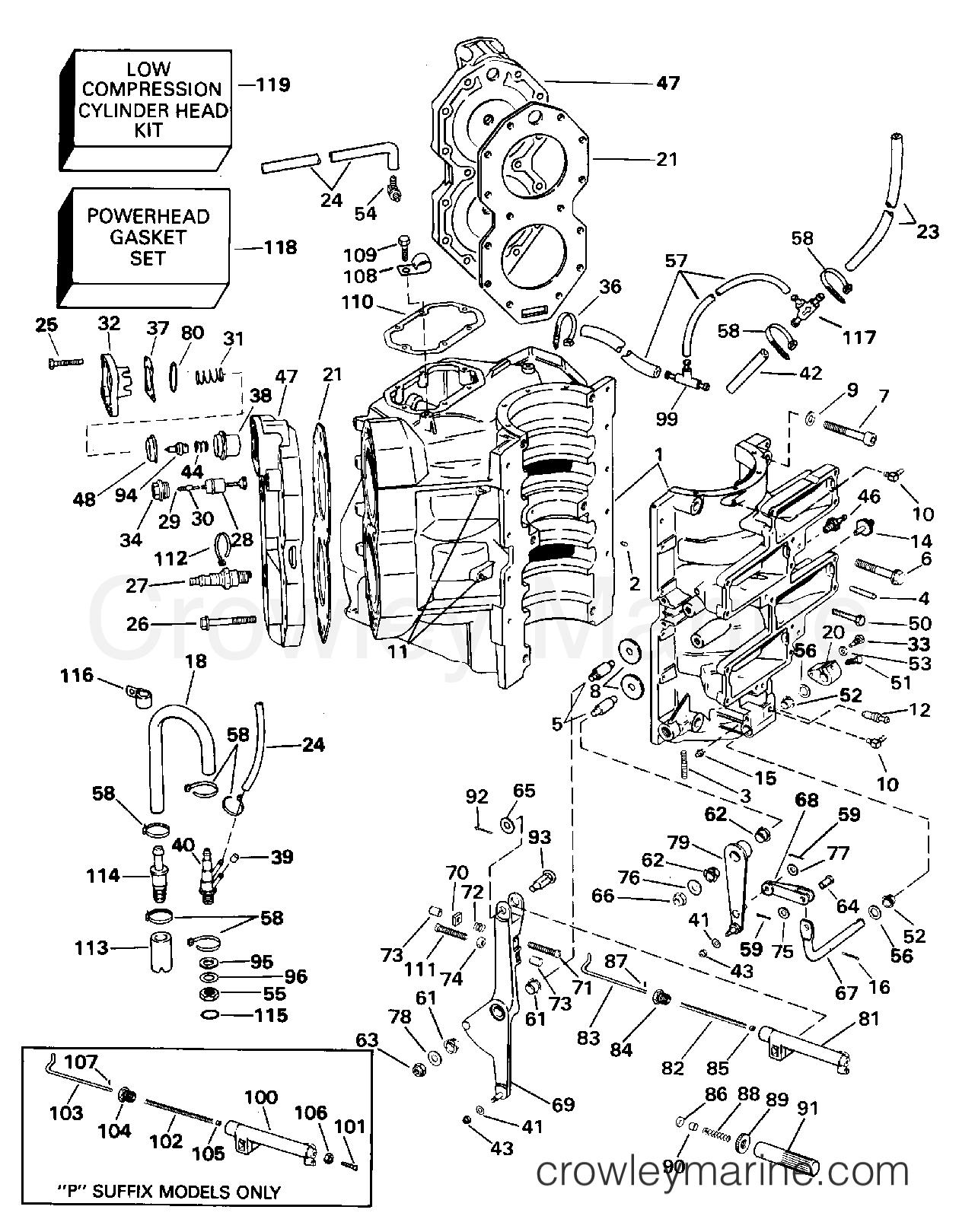 Cylinder Amp Crankcase