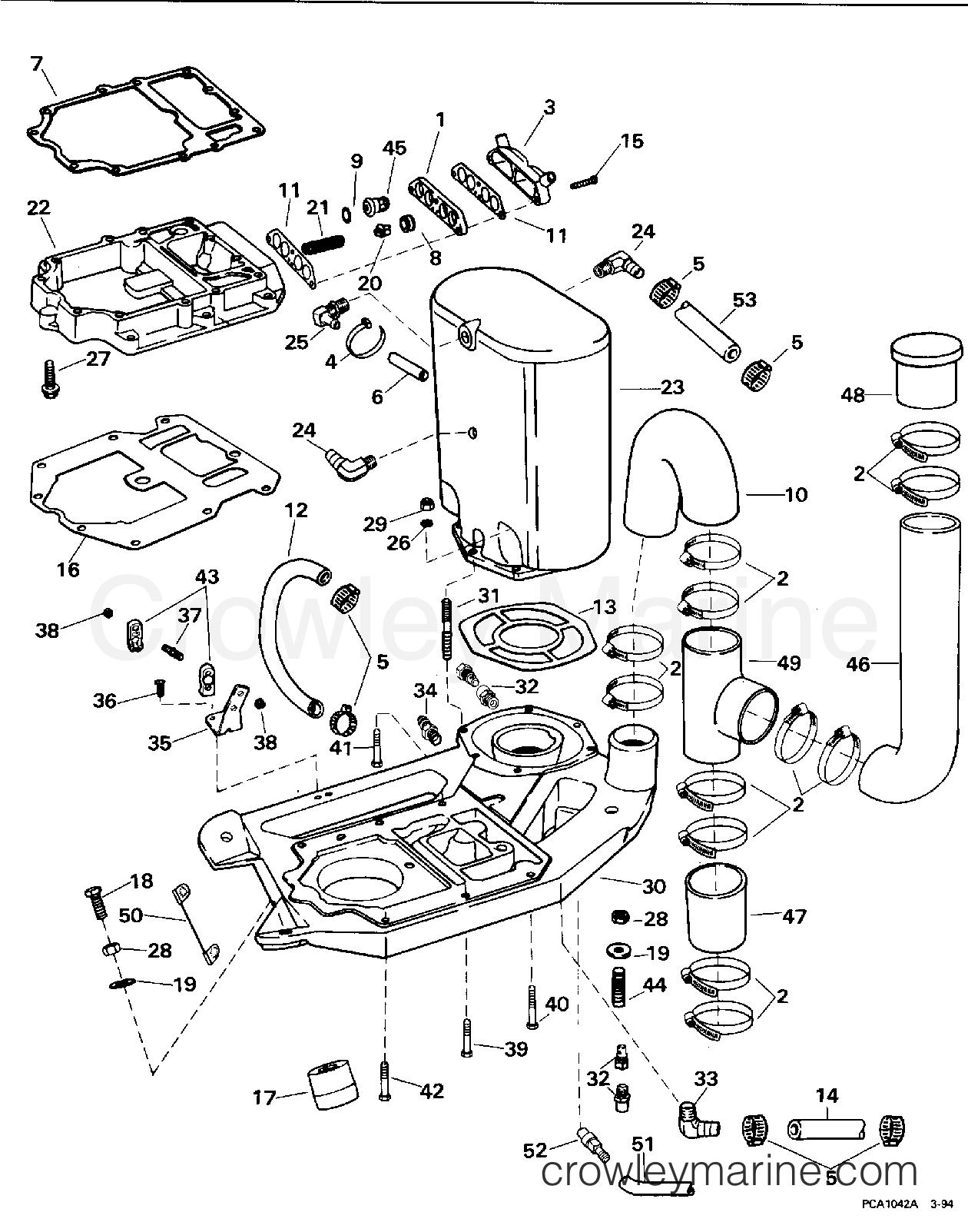 Adaptor Amp Muffler