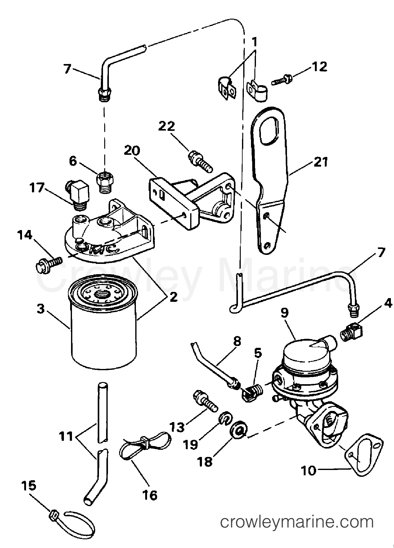 Fuel Pump And Filter