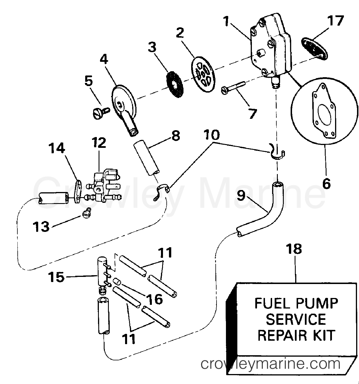 Fuel Pump And Filter Early Production