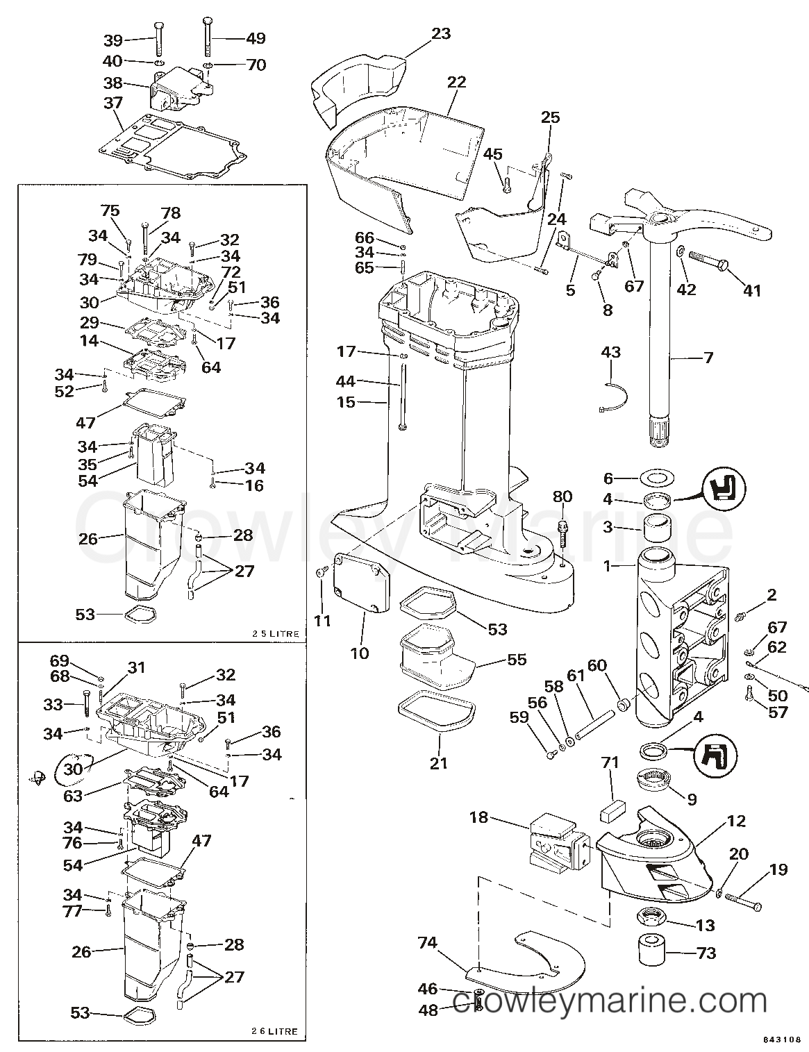 Parts 1984 Omc Outdrive | Wiring Diagram Database