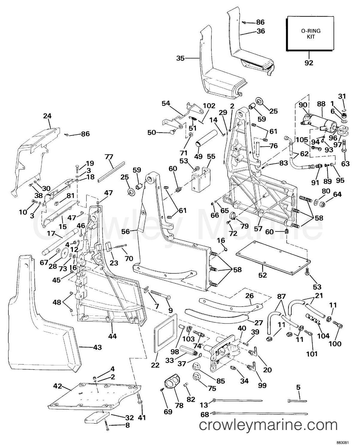 Omc Steering Diagram
