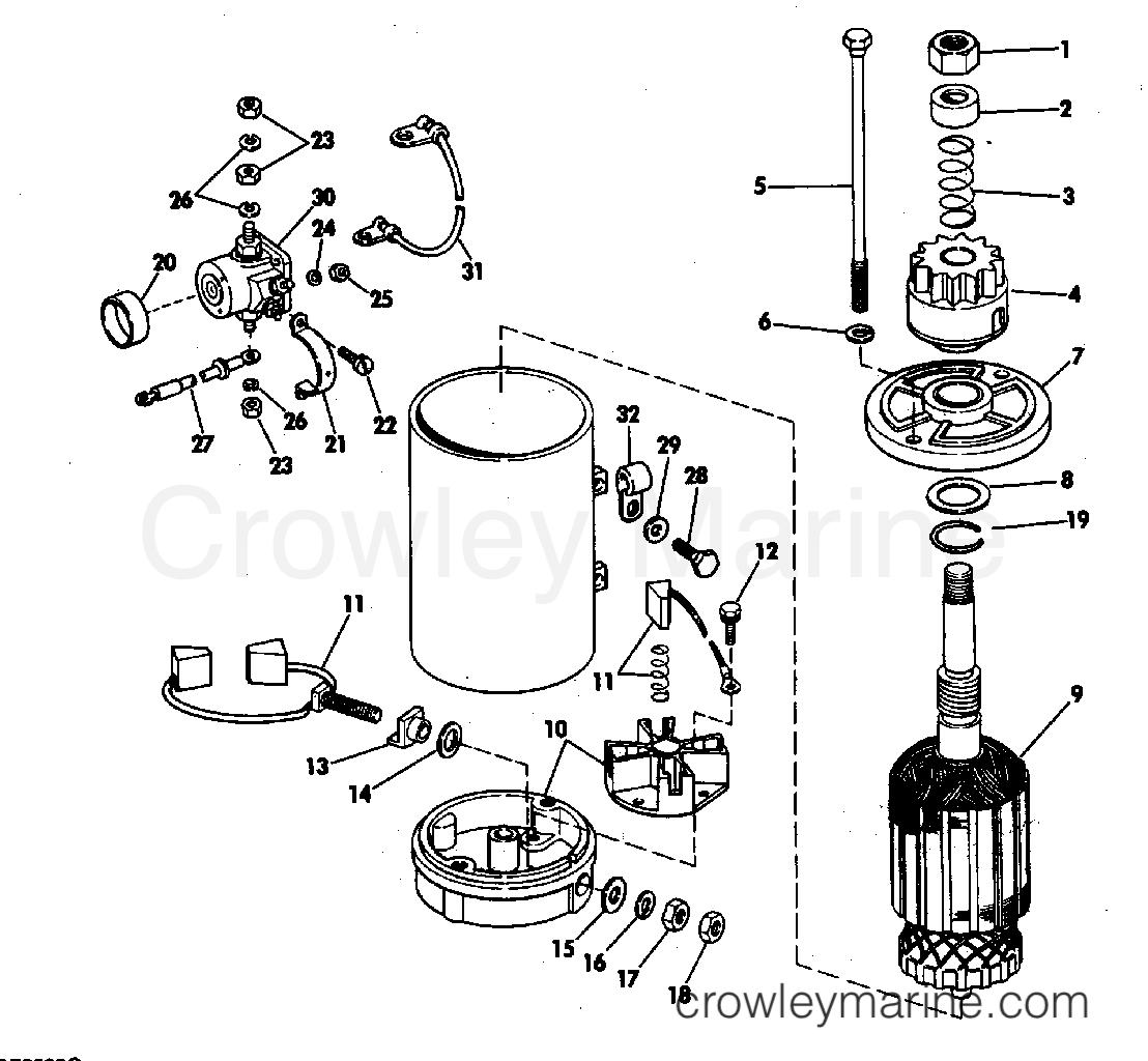 Electric Starter Amp Solenoid American Bosch 20 M030sm