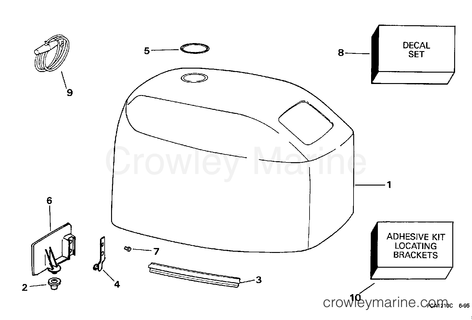 Engine Cover Johnson