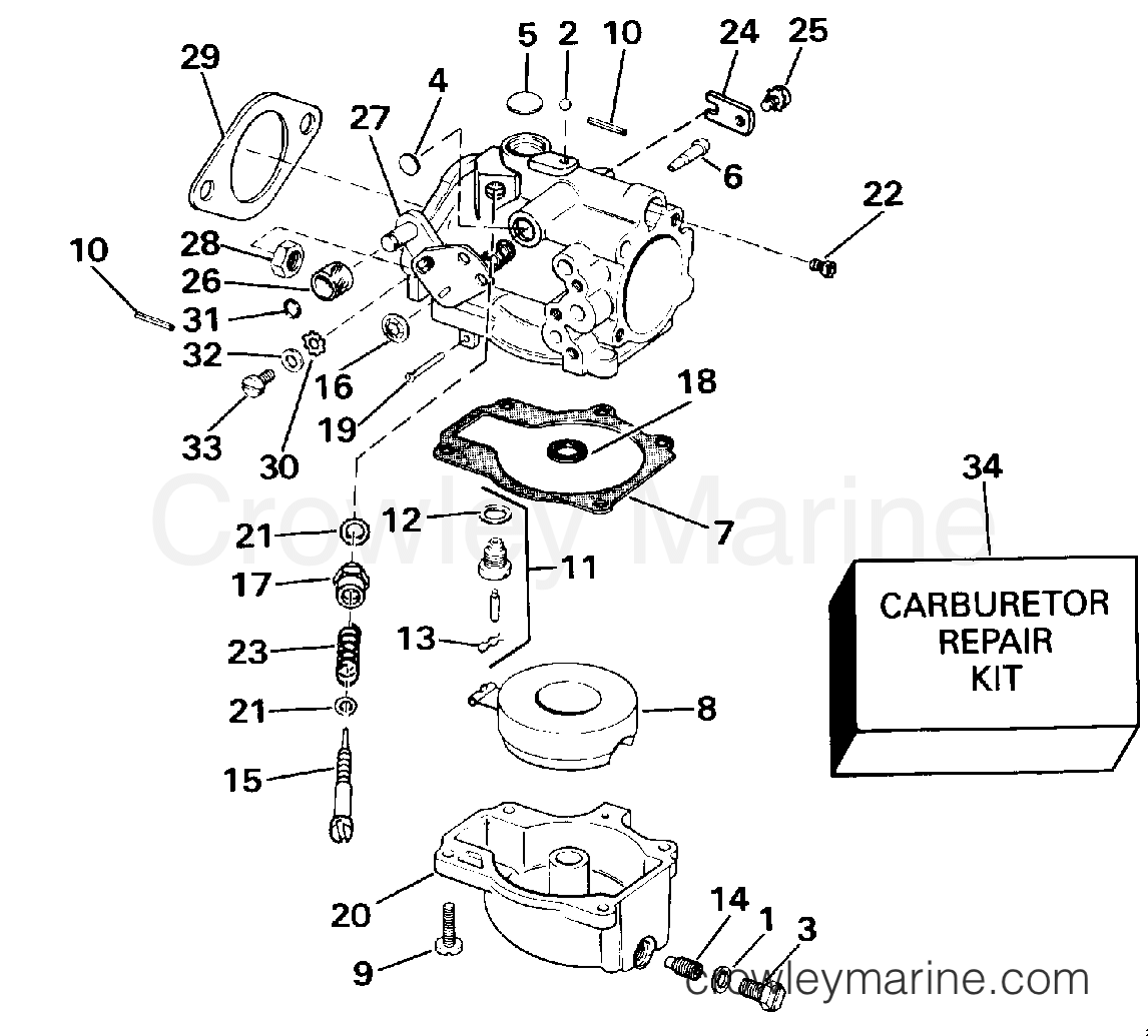 Yamaha Outboard Carburetor Cleaning 1990 Model | Wiring Diagram Database
