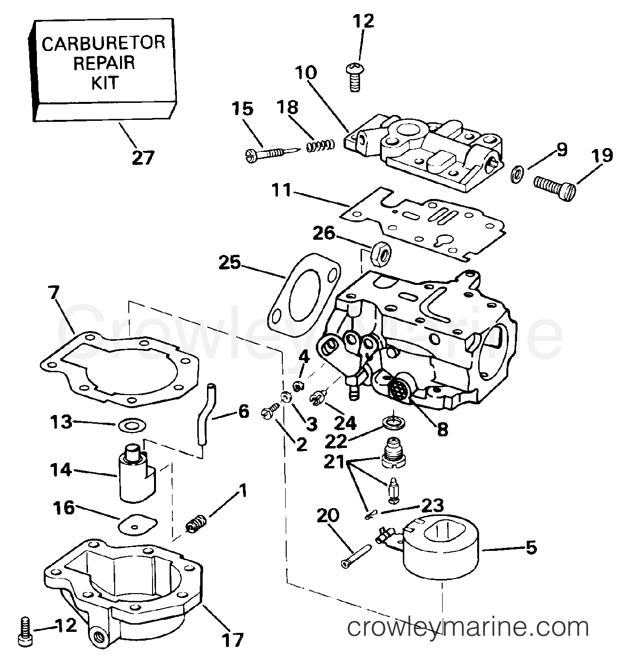 Carburetor 20ee