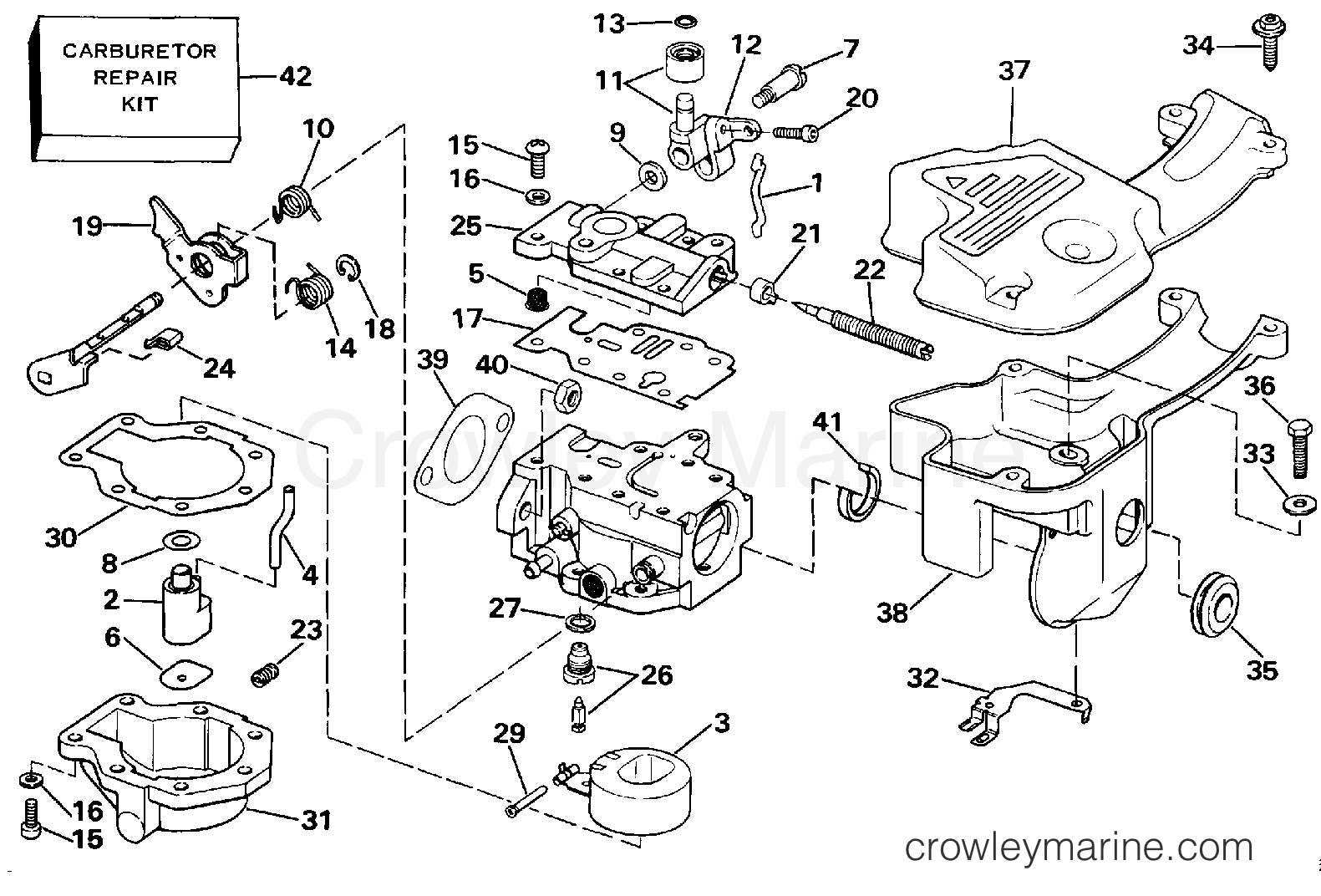 Carburetor Late Production