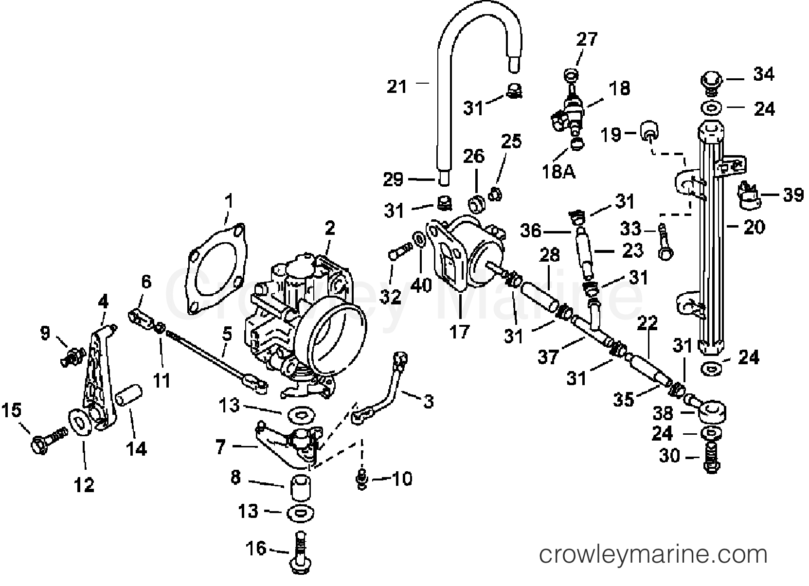 Injector Amp Throttle Body