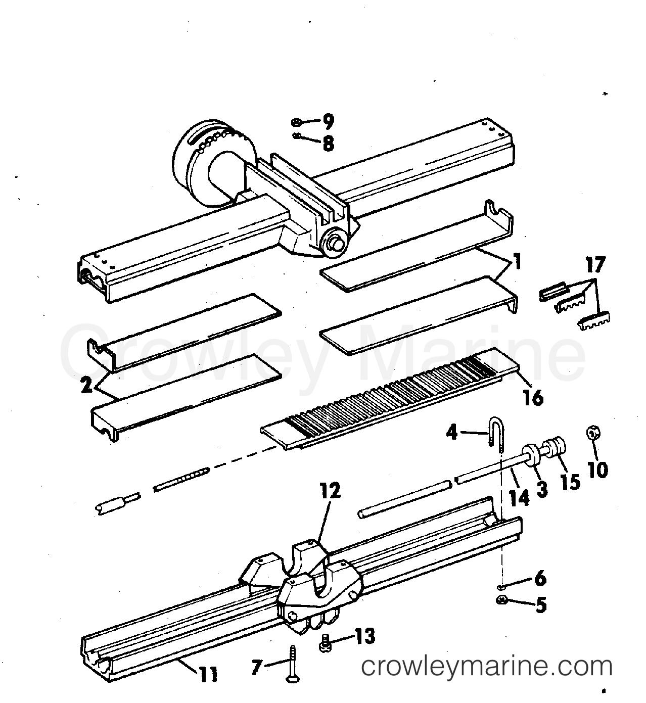 Over Under Adapter Kit Mechanical Steering All Models