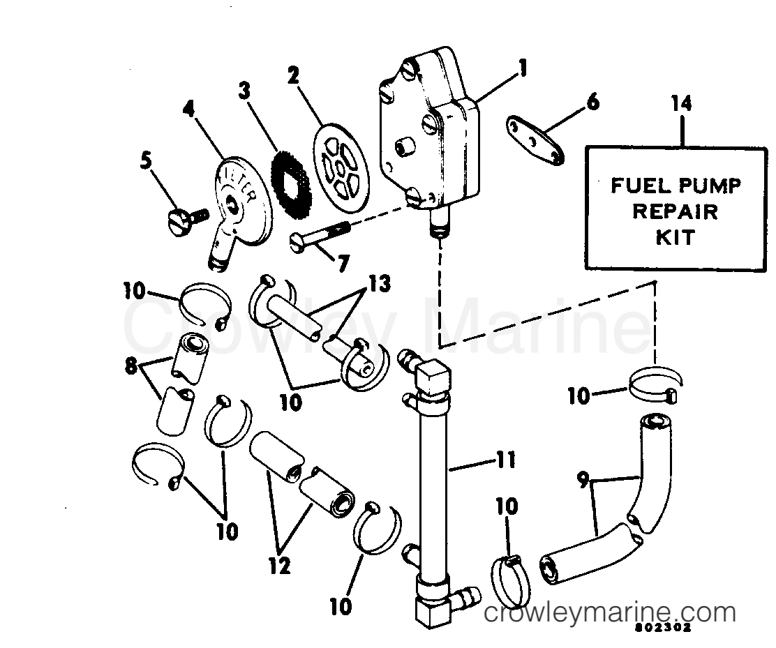 Outboard Motor Diagram For 70 Hp Evinrude