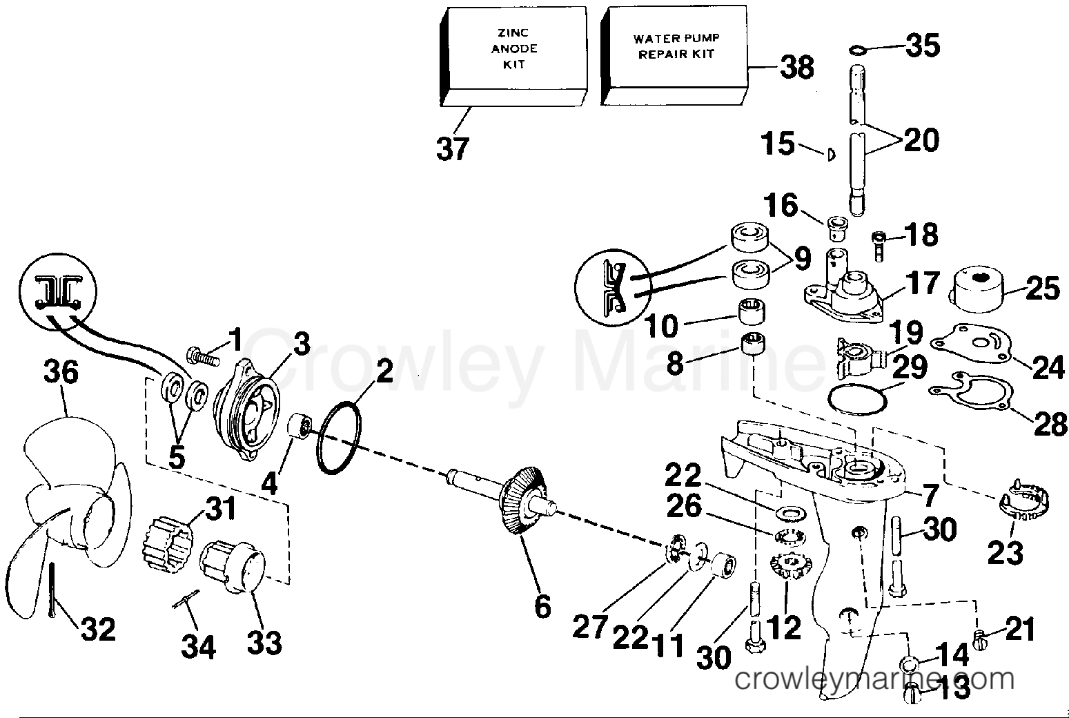 225 Suzuki Outboard Parts Diagrams