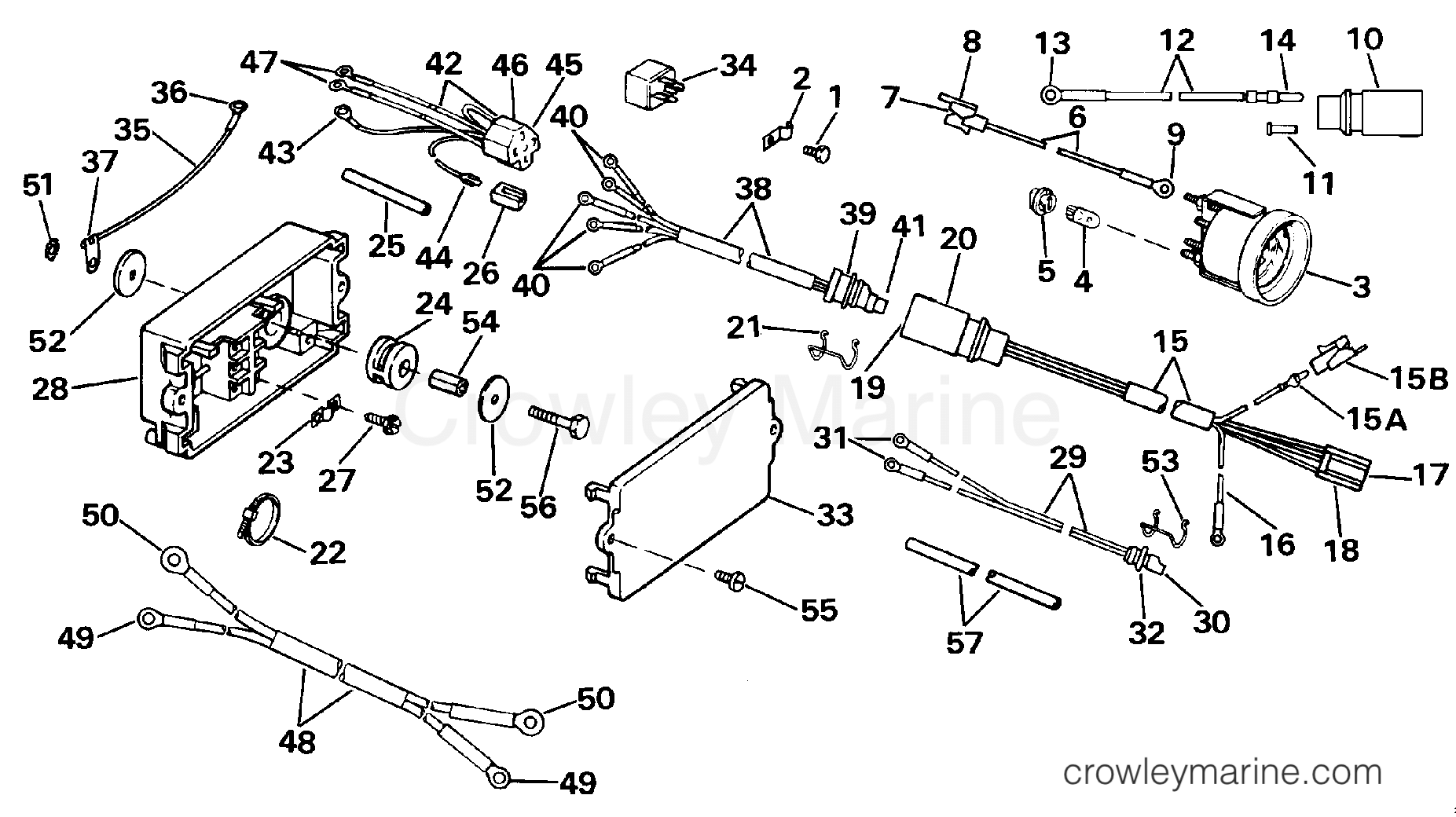 Johnson Evinrude Tilt Trim Wiring Diagram