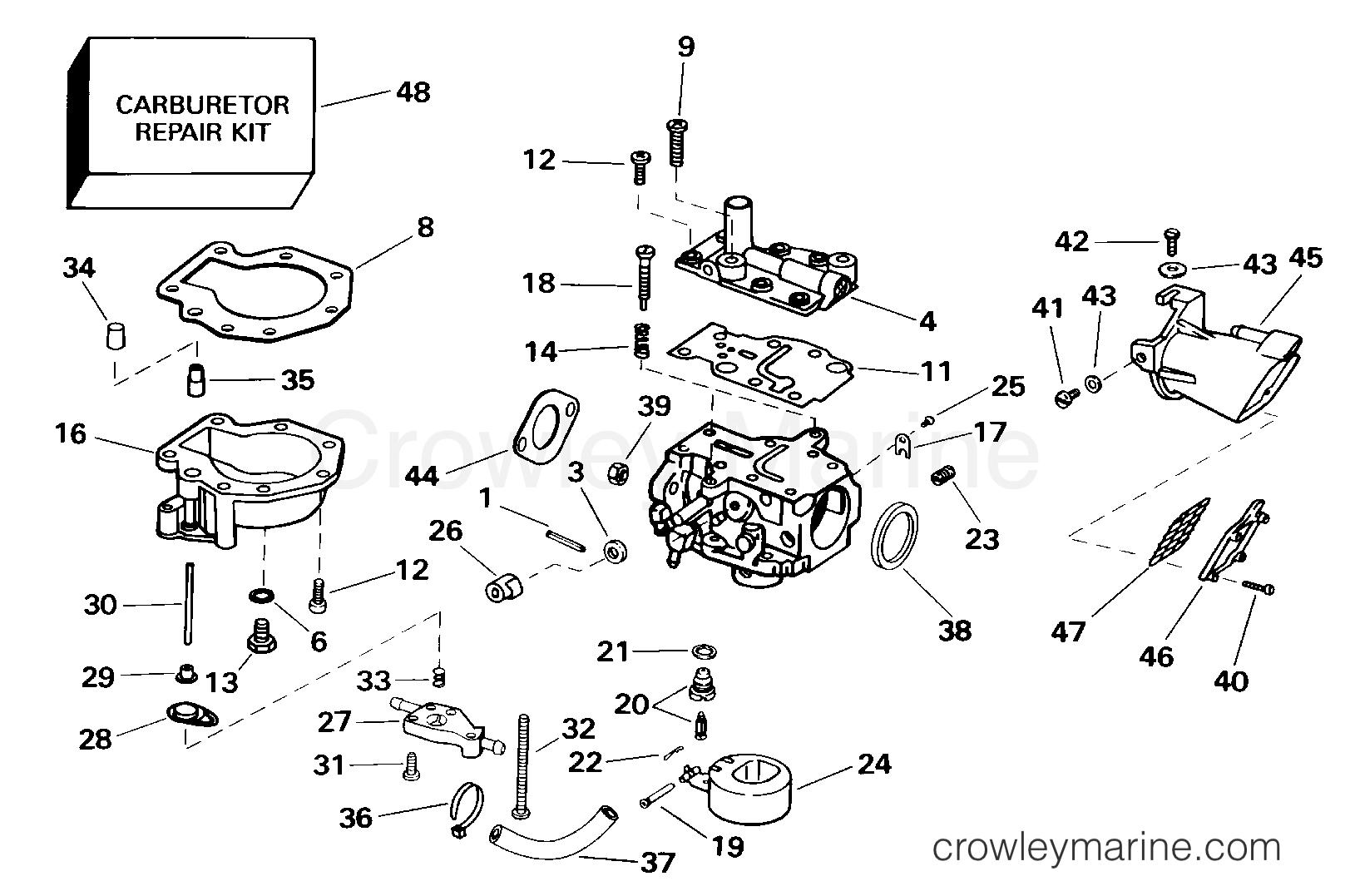 Carburetor 15 Hp
