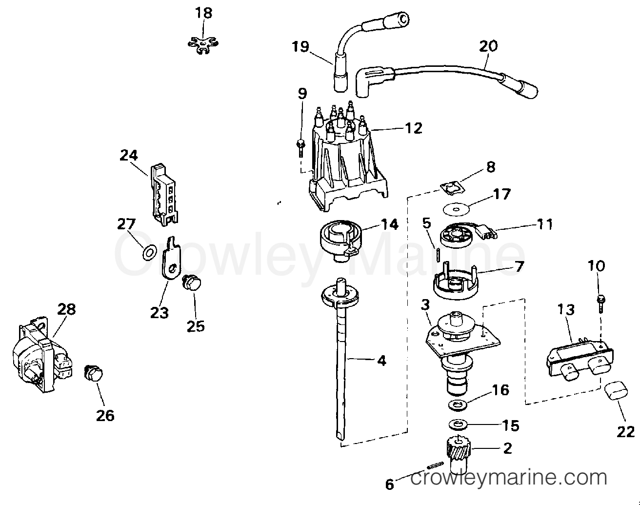 Distributor And Ignition Coil