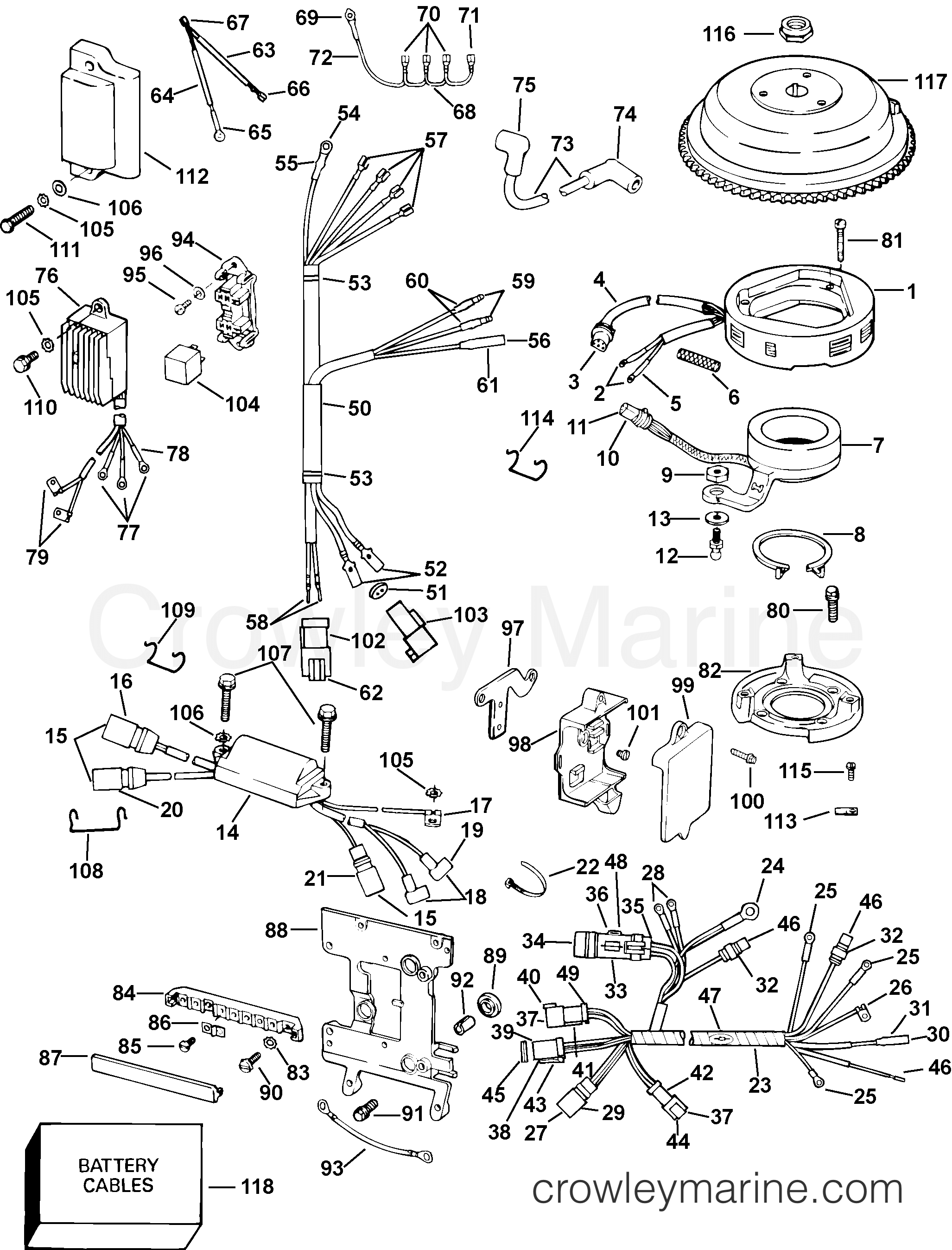 Yamaha 40 Wiring Diagram Ignition