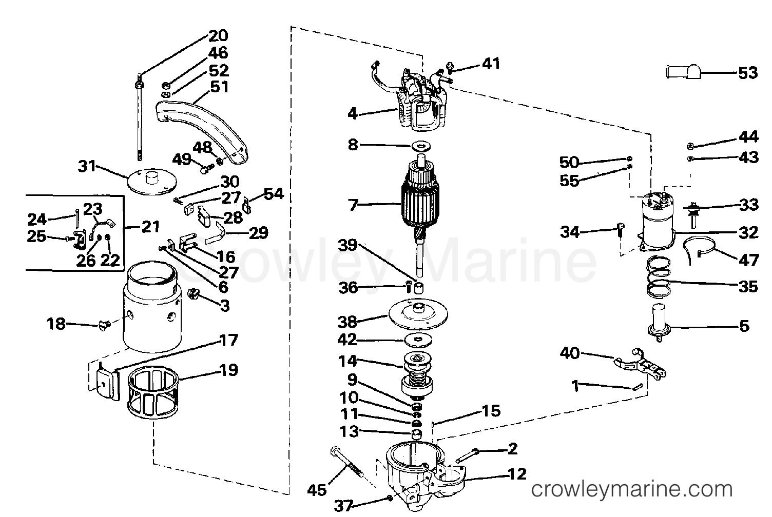 Omc Engine Diagram - Wiring Diagrams on