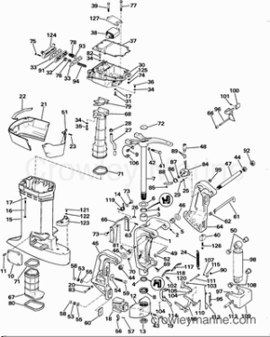 1985 Johnson Outboards 100 [J100WMLCOC]  Parts Lookup