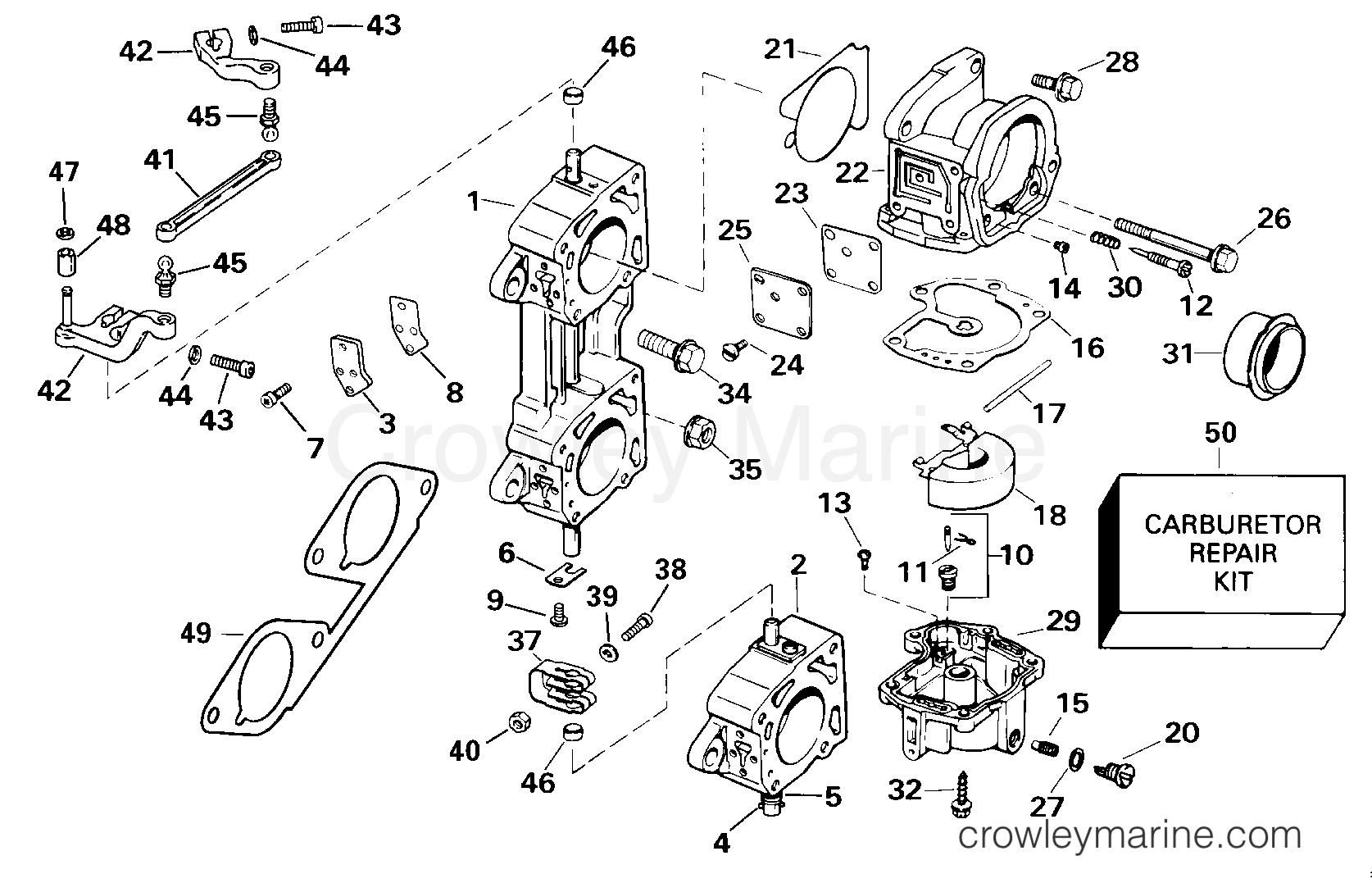 Carburetor Amp Linkage