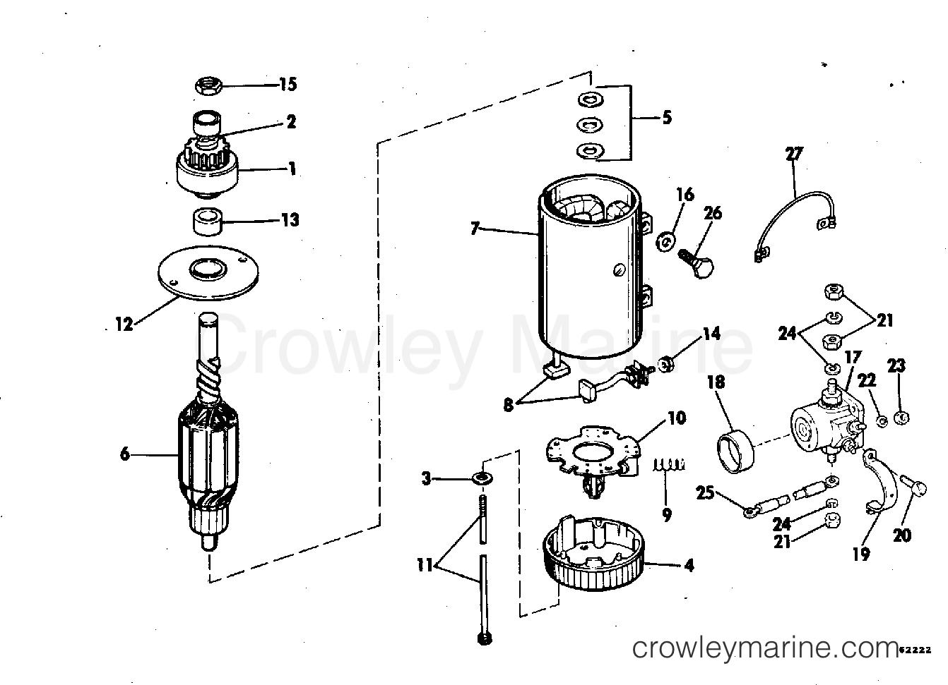 Electric Starter Amp Solenoid Prestolit Models Mgd